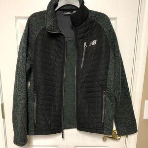 New Balance hunter green jacket